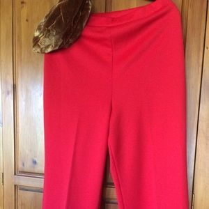 Vintage Dotty Mann Red pants size M/L